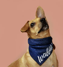 Load image into Gallery viewer, Dog Bandana | Denim