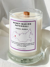 Load image into Gallery viewer, Moneymaking Patchouli Soy Candle - Patchouli, Leather