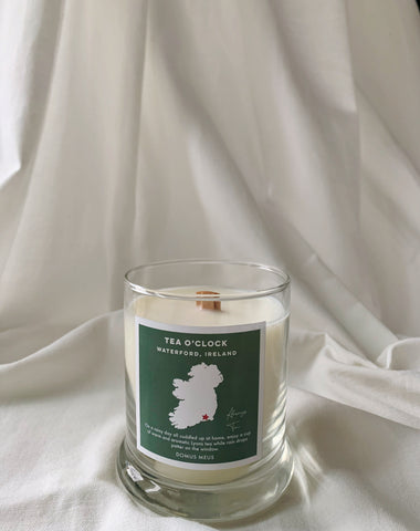Candle inspired by Ireland