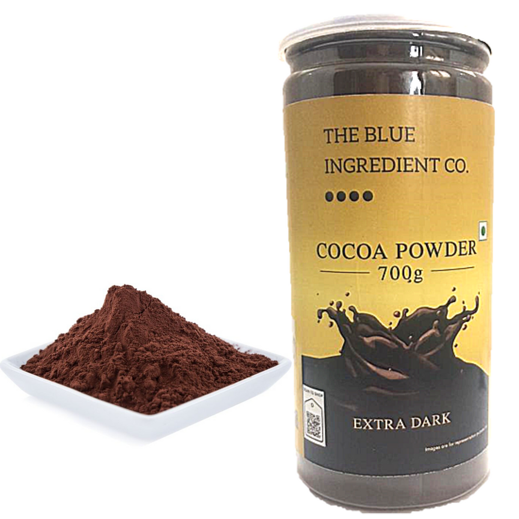 High Alkalized Heavy Dutch-Processed Cocoa Powder ; for Baking Purpose - select pack size - Blue Ingredients