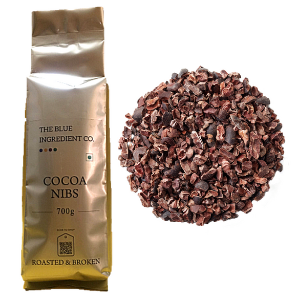 Buy Now 👉 Cocoa NIBS; Raw Cacao Nibs - select pack size by #BlueIngredients #IngrediWare
