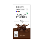 Unsweetened Natural Cocoa Powder for Milkshakes & Beverages - select pack size - Blue Ingredients