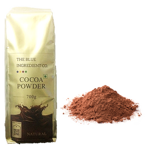 Buy Now 👉 Unsweetened Natural Cocoa Powder for Milkshakes & Beverages - select pack size by #BlueIngredients #IngrediWare
