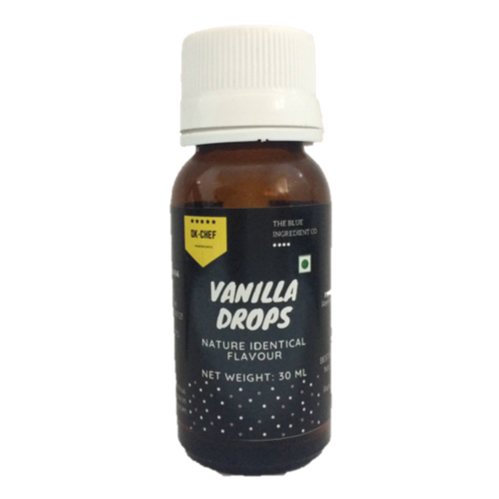 Vanilla Drops Flavour Essence; 30 ml - Blue Ingredients