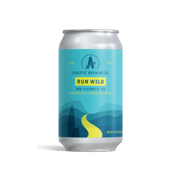 Athletic Brewing Co. Run Wild IPA (<0.5% ABV | 12oz.)