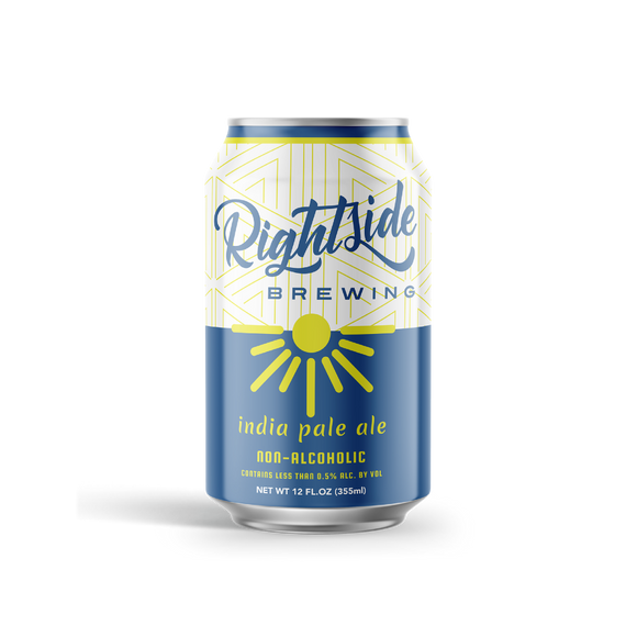 Rightside Brewing IPA (<0.5% ABV | 12-Pack | 12oz.)