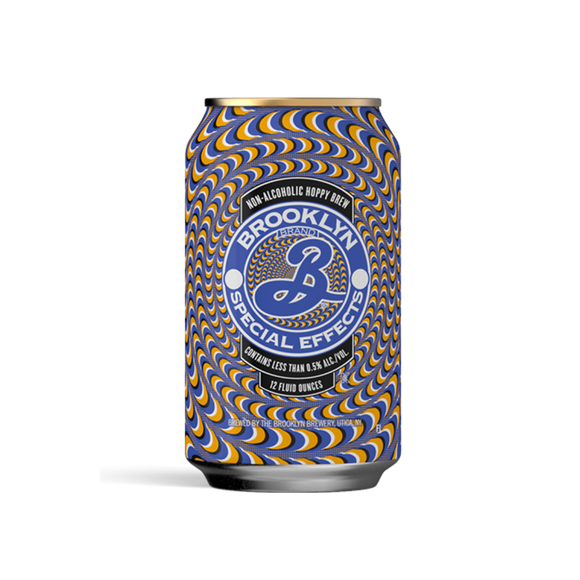 Brooklyn Brewery Special Effects Hoppy Amber (<0.5% ABV | 12oz.)