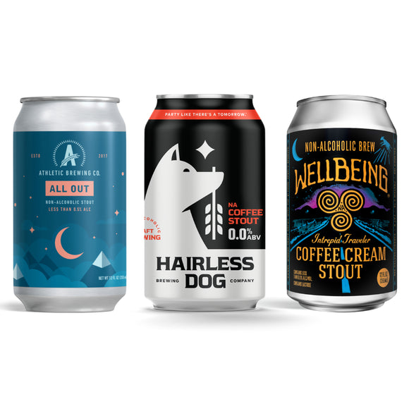 Non-Alcoholic Stouts Mixed Pack Sampler (6-Pack | 12 oz.)