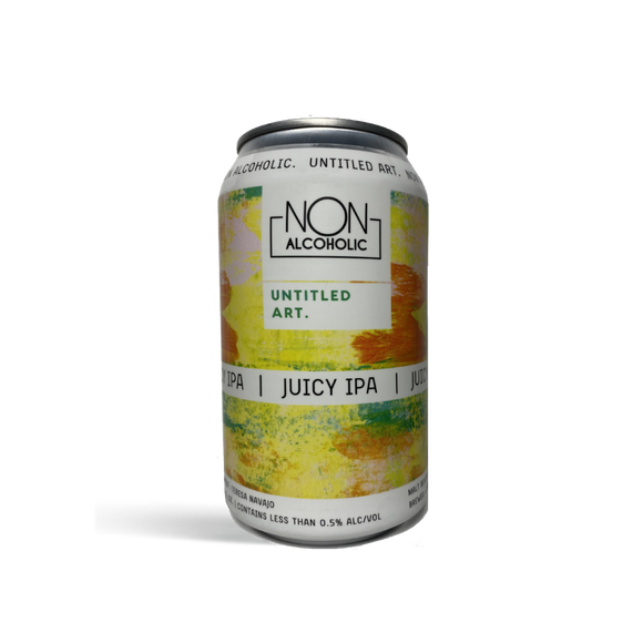Untitled Art Juicy IPA (<0.5% ABV | 6-Pack | 12oz.)