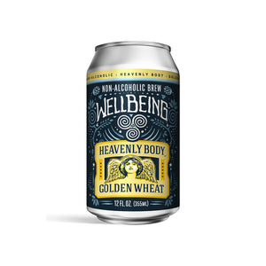 WellBeing Heavenly Body Golden Wheat (<0.5% ABV | 12oz.)