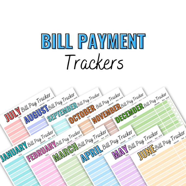 Bill Pay Trackers
