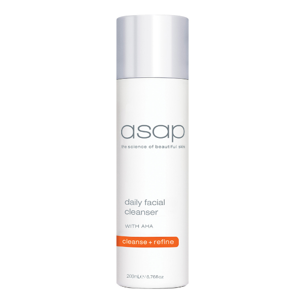 ASAP Daily Facial Cleanser With AHA 200ml