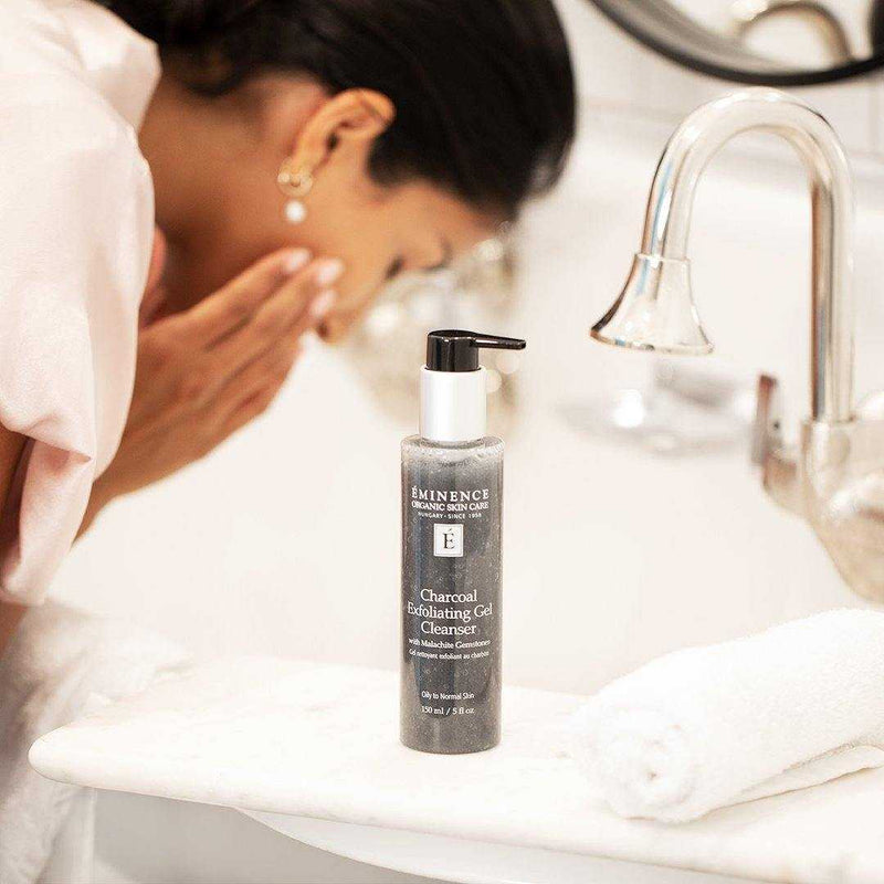 Eminence Charcoal Exfoliating Gel Cleanser 150ml - NEW!