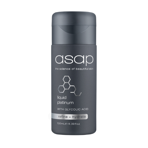 ASAP Liquid Platinum with Glycolic Acid - 130ml