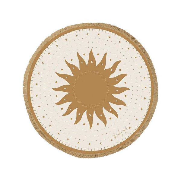 The Beach People - Lune Round Towel