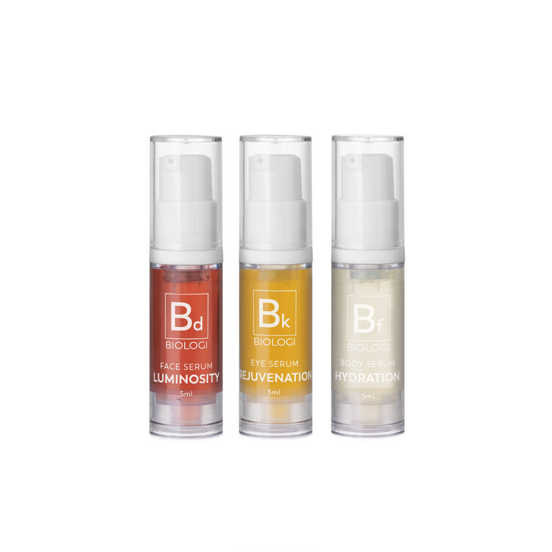 Biologi Save My Skin Bundle - 1 x Bk 5ml, 1 x Bd 5ml, 1 x Bf 5ml
