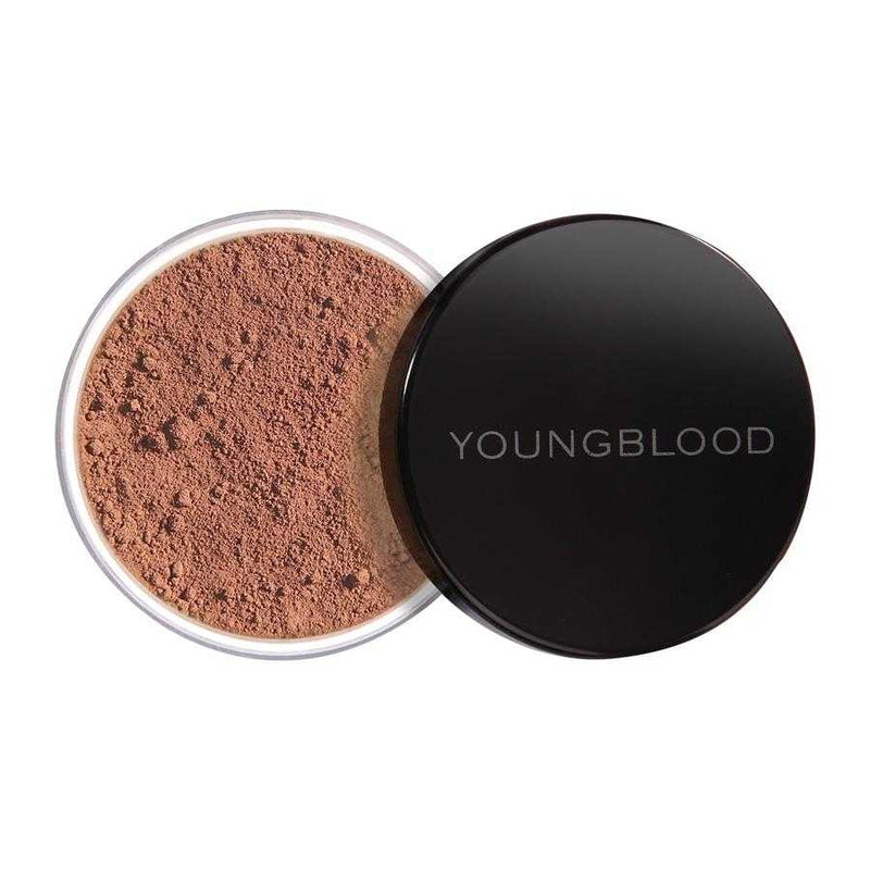Youngblood Natural Loose Mineral Foundation - Hazelnut 10g - OLD PACKAGING