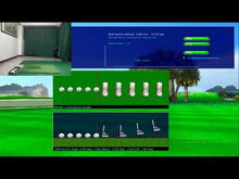 Load and play video in Gallery viewer, 1.DTG-201 VR golf simulator高尔夫模拟器