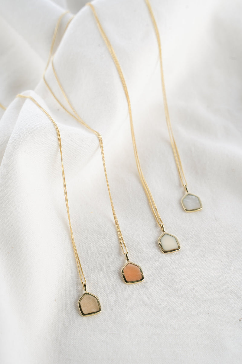 Grapefruit Affair Necklace | Sustainable Jewelry
