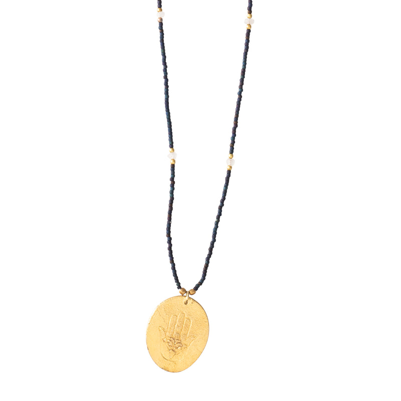 Moonstone Gold Necklace | Sustainable jewelry
