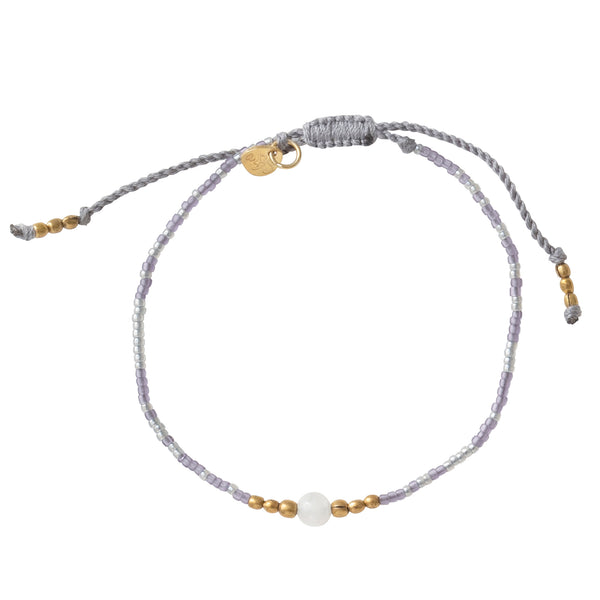 A Beautiful Story Iris Moonstone Gold Bracelet