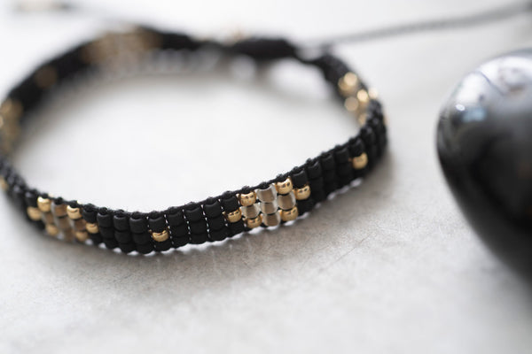 A Beautiful Story Summerlight Black Onyx Bracelet