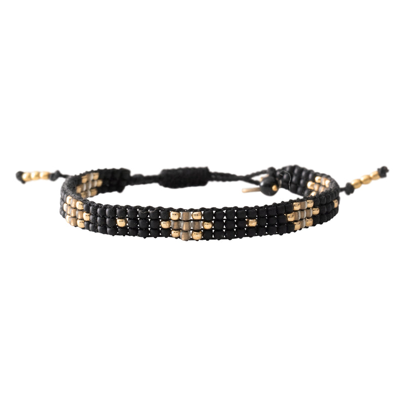 Duurzame sieraden | A Beautiful Story Summerlight Black Onyx Bracelet