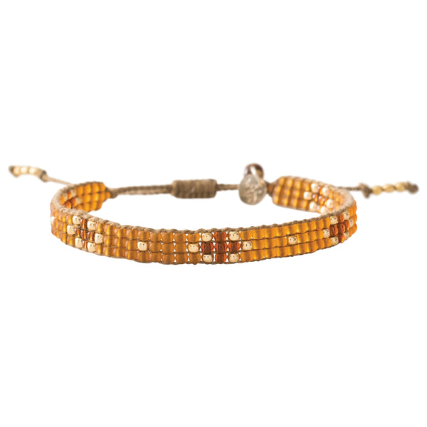 Duurzame sieraden | A Beautiful Story Summerlight Tiger Eye Gold Bracelet