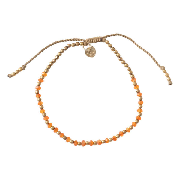 A Beautiful Story Beautiful Carnelian Gold bracelet