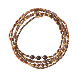 Duurzame sieraden | A Beautiful Story Together Garnet Gold Bracelet