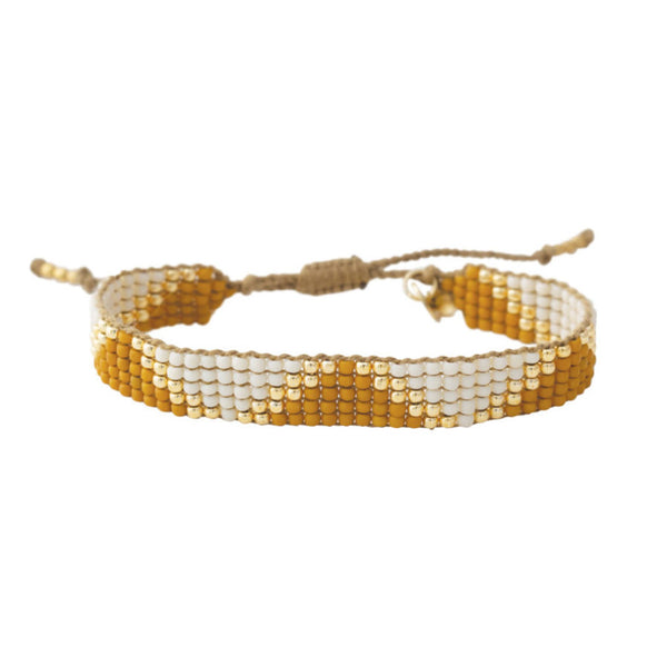 Duurzame sieraden | A Beautiful Story Flare Citrine Gold Bracelet