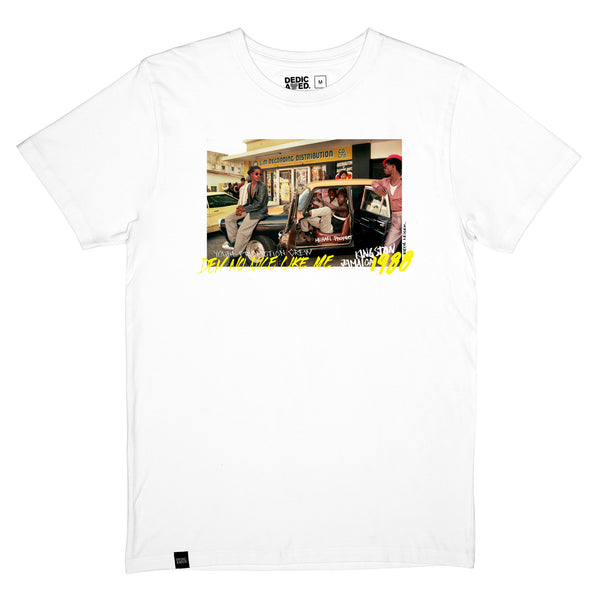 Duurzame mode | Dedicated heren T-shirt Stockholm Dem No Nice