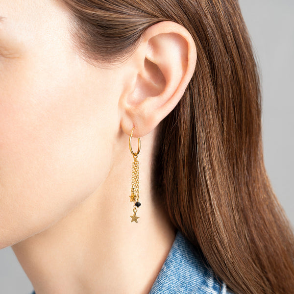 Black Onyx Earring | Sustainable Jewelry