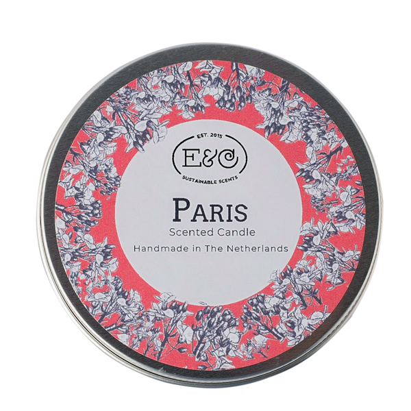 Elate Tin Candle – Paris