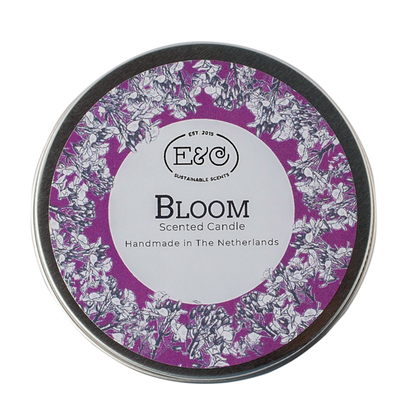 Elate Tin Candle – Bloom