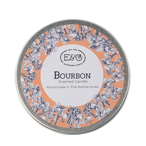 Elate Tin Candle – Bourbon