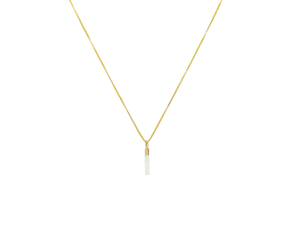 Ivory Drop Necklace | Duurzame Sieraden