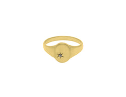 Flawed Impression Ring – Gold