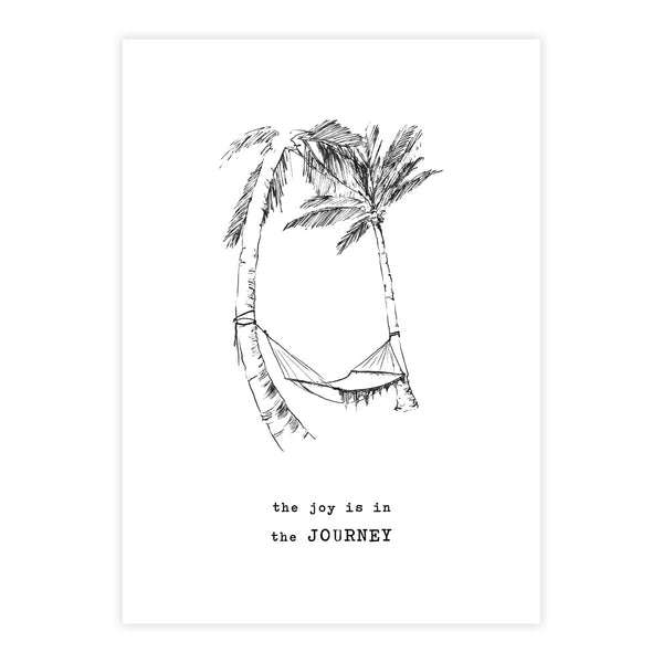 Duurzame Lifestyle | A Beautiful Story Postcard Palmtrees