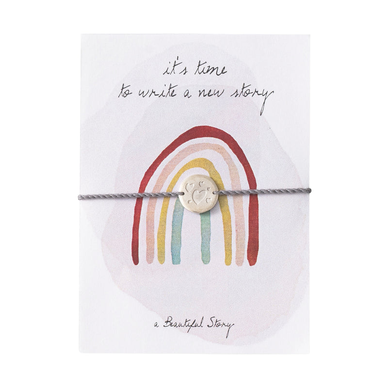 Duurzame Lifestyle | A Beautiful Story Jewelry Postcard Rainbow