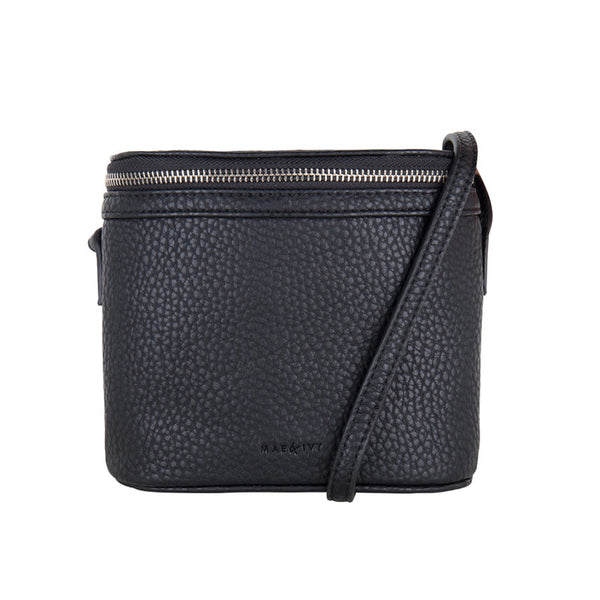 Mae & Ivy Liva Crossbody Bag – Black