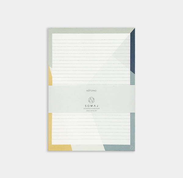 Somaj Sunny Shapes Notepad
