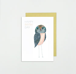 Duurzame Lifestyle | Somaj Happy Birthday Owl Postcard