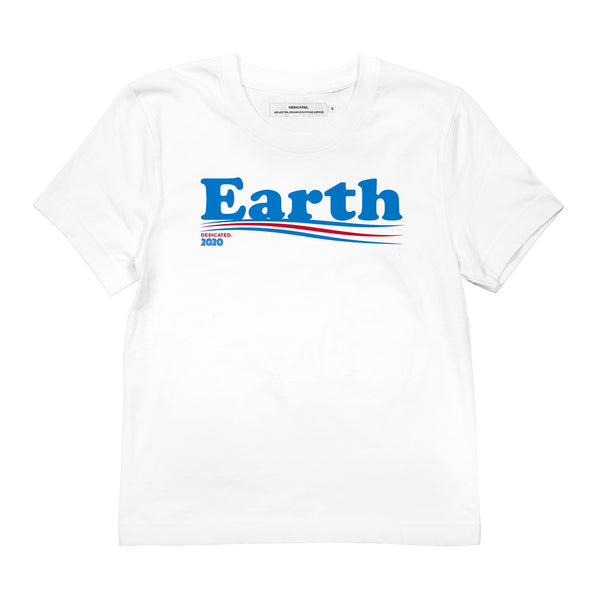 Dedicated Dames T-shirt Earth | Duurzame mode
