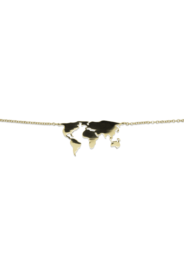 World Wide Gold Necklace | Sustainable Jewelry