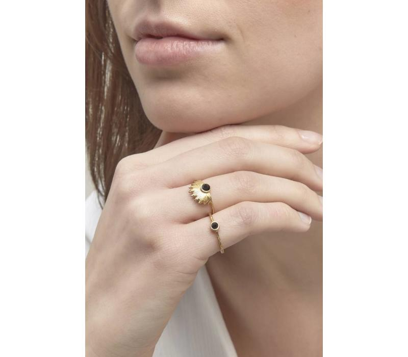 Riverstones Empowered Ring Goud