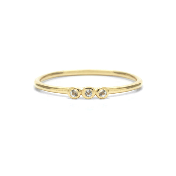 Riverstones Grace Ring Gold