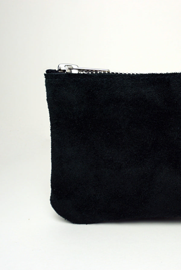 Wallet Suede Black | Duurzame mode