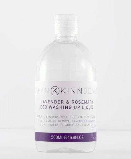 KINN Eco Friendly Washing Up Liquid - Lavender & Rosemary