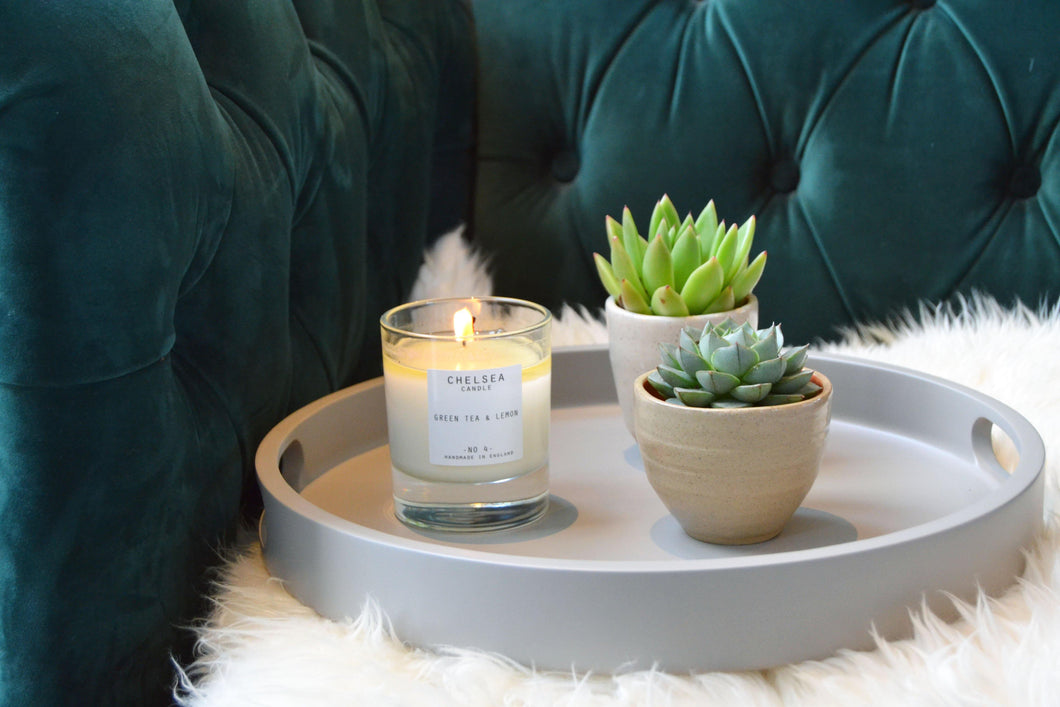 Luxe Eco Candle - Green Tea & Lemon - Purpledaisy At Home